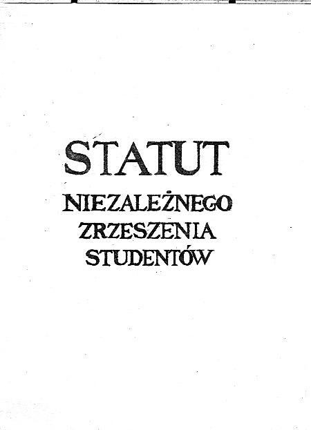 Statut - 1