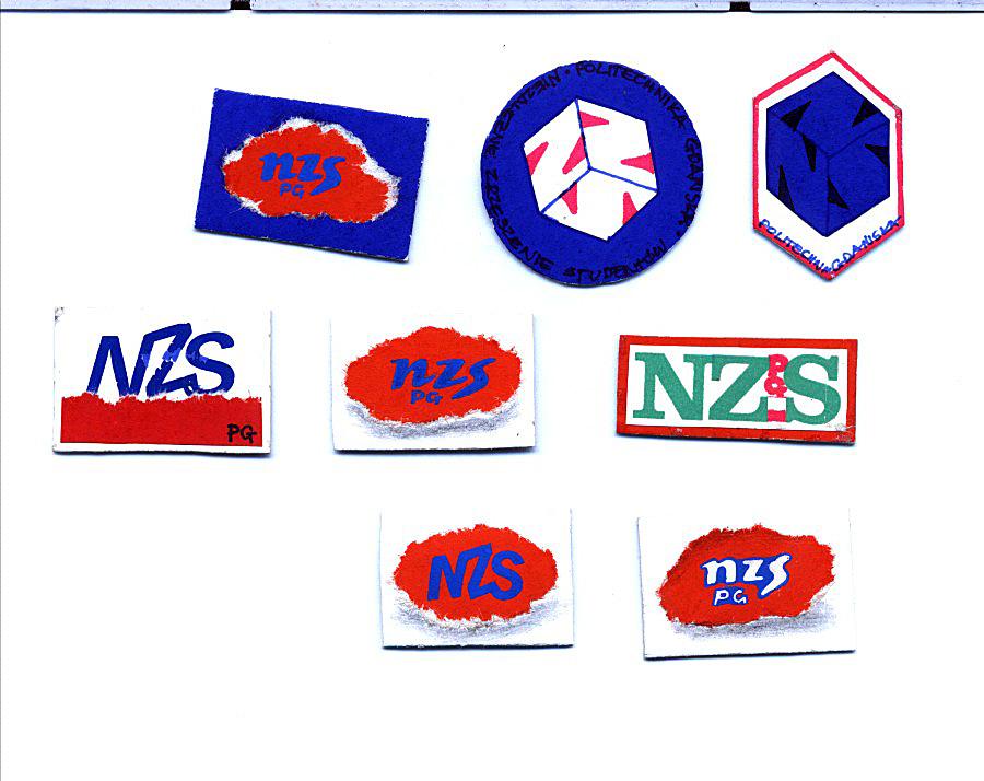 Projekty znaczków